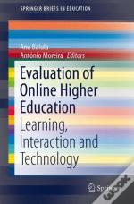 Evaluation Of Online Higher Education