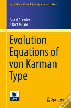 Wook.pt - Evolution Equations Of Von Karman Type