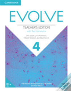 Wook.pt - Evolve Level 4 Teacher'S Edition With Test Generator