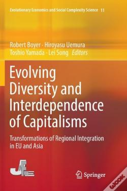 Wook.pt - Evolving Diversity And Interdependence Of Capitalisms