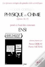 Ex Physique Chimie Oral Ensi