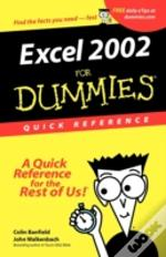 Excel 2002 For Dummiesquick Reference
