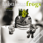 Fabulous Frogs 2019 Mini Wall Calendar