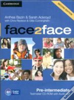 Wook.pt - face2face Pre-intermediate Testmaker CD-ROM and Audio CD