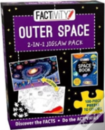 Factivity Outer Space 2-In-1 Jigsaw Pack