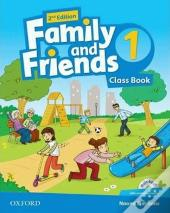 Family and Friends Level 1 Class Book with Student MultiROM