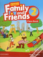 Family and Friends Level 2 Class Book with Student MultiROM