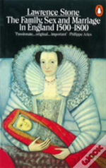Family Sex And Marriage In England, 1500-18001500-1800