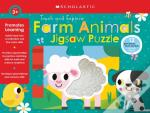 Farm Animals Jigsaw Puzzle (Scholastic Early Learners)