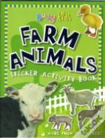 Farm Animals Sticker Activity Book