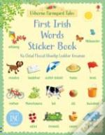 Farmyard Tales First Irish Words Sticker Book