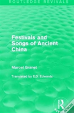 Wook.pt - Festival And Songs Of Ancient China