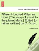 Fifteen Hundred Miles An Hour. (The Stor