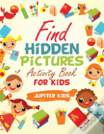 Find Hidden Pictures Activity Book For Kids