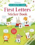 First Alphabet Sticker Book