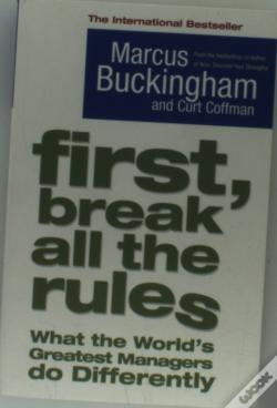 Wook.pt - First, Break All The Rules