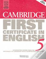 First Certificate in English 5