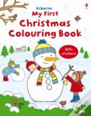 First Christmas Colouring Book