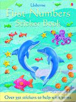 First Numbers Sticker Book