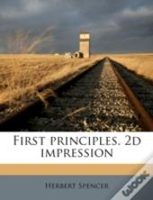 First Principles. 2d Impression