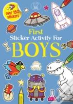 First Sticker Activity For Boys