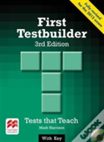 First Testbuilder 3rd Edition Student'S Book With Key Pack