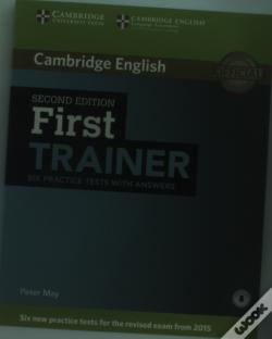 Wook.pt - First Trainer Six Practice Tests With Answers With Audio