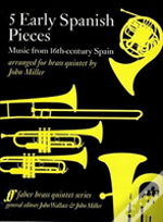 Five Early Spanish Pieces Brass Quintet