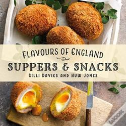 Wook.pt - Flavours Of England: Suppers & Snacks