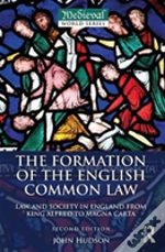 Formation Of English Common Law 2ed