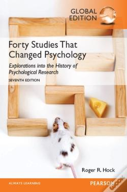 Wook.pt - Forty Studies That Changed Psychology, Global Edition