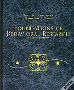 Wook.pt - Foundations Of Behavioural Research