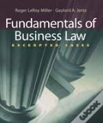 Foundations Of Bus Law