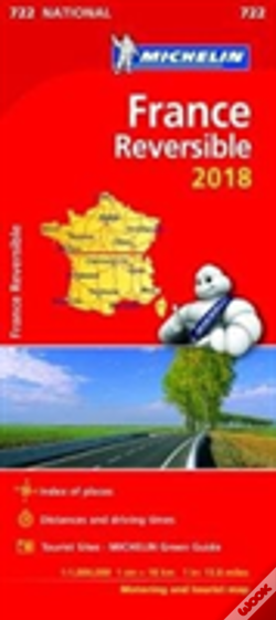 Wook.pt - France - Reversible 2018 National Map 722