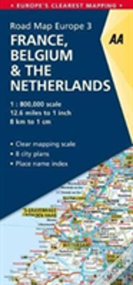 France & Benelux Road Map