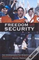 Freedom Or Security