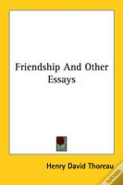 Wook.pt - Friendship And Other Essays