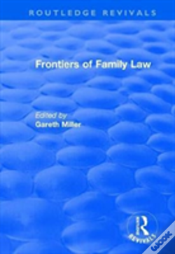 Wook.pt - Frontiers Of Family Law