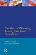 Frontiers Of Phonology