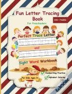 Fun Letter Tracing Book For Preschoolers