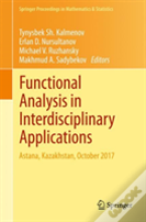 Functional Analysis In Interdisciplinary Applications
