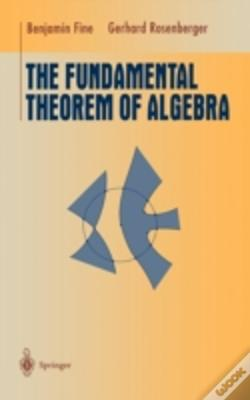 Wook.pt - Fundamental Theorem Of Algebra