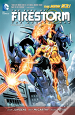 Fury Of Firestorm The Nuclear Men Volume 3: Takeover Tp (The New 52)