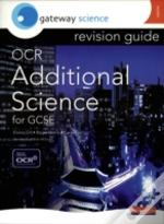 Gateway Science Ocr Additional Science For Gcse Revision Guide Higher