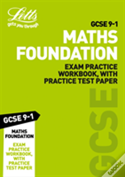 Wook.pt - Gcse 9-1 Maths Foundation Exam Practice Workbook, With Practice Test Paper