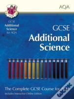 Gcse Additional Science For Aqa - Student Book With Interactive Online Edition