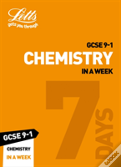Wook.pt - Gcse Chemistry In A Week
