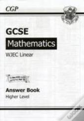 Gcse Maths Wjec Linear Answers (For Workbook) - Higher