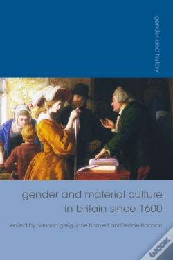 Wook.pt - Gender And Material Culture In Britain Since 1600