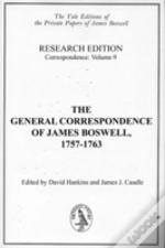 General Correspondence Of James Boswell, 1757-1763correspondence